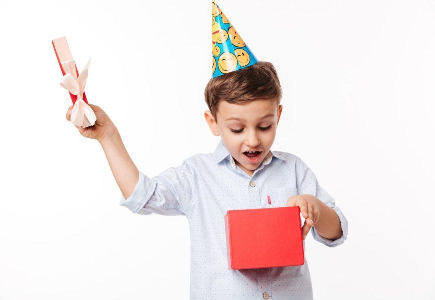 что подарить ребенку на 5 лет мальчику на день рождения